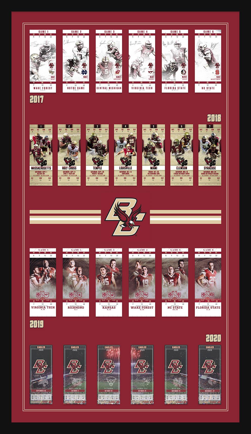 4 Years of BC Football - 2017 - 2020