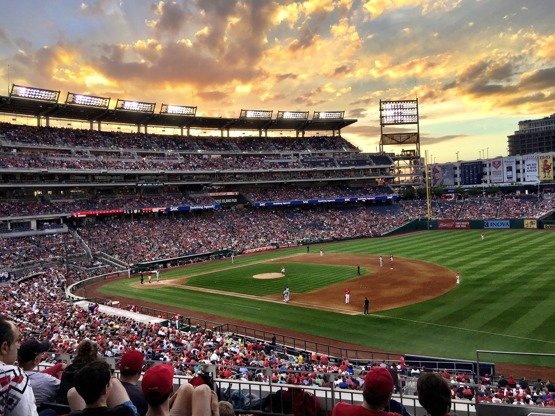 Sunset baseball